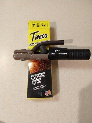 New Tweco 200 Amp Stinger Electrode Holder Model A-532 Made In Usa