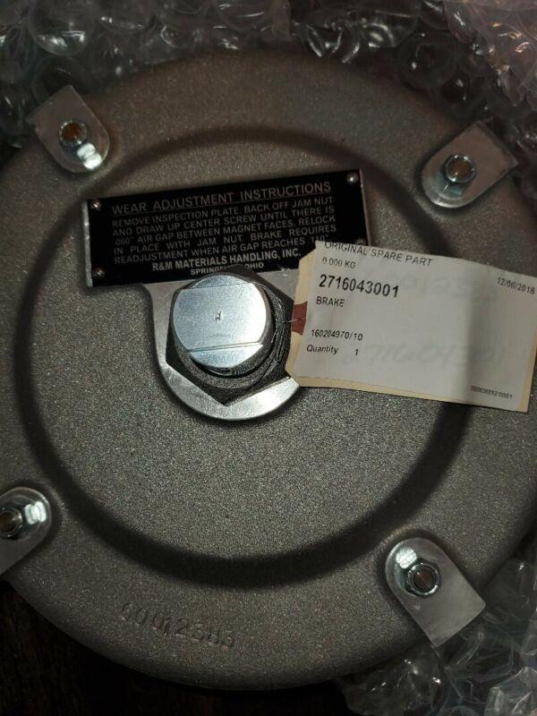 R&M Complete Brake Assembly w/ Hub P/N 2716043001 BRAND NEW