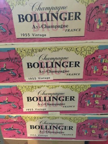 VINTAGE BOLLINGER CHAMPAGNE, FRANCE, 1955!!!