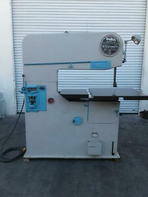 Doall Z-36a 36 Vertical Contour Bandsaw Steel Working Machinery Vector Auto