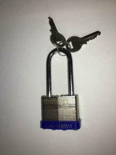 """Pad Lock, Long Shaft. 6.7 Ounces. 2 1/2"""", 40MM, 2 Keys"""