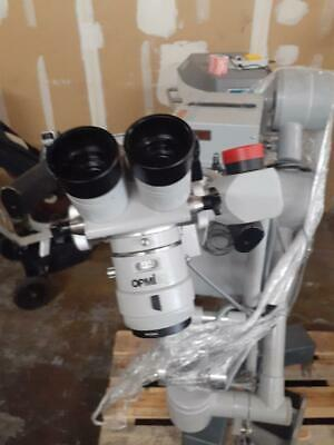 Carl Zeiss Opmi Surgical Operating Microscope W Cz Super Lux 40