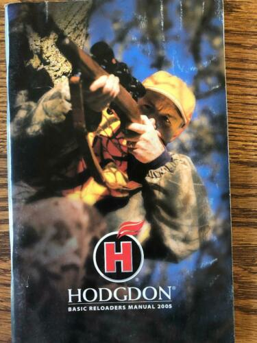 2005 HODGDON POWDERS RELOADING MANUAL
