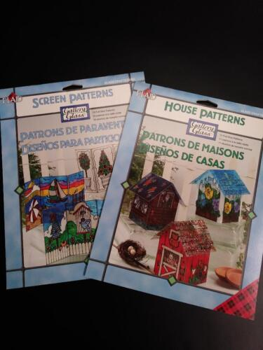 Gallery Glass House Patterns #9380 and Screen Patterns #9380 (21 Total Patterns)