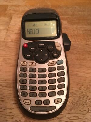 Used Dymo Letratag Lt-100h Handheld Label Maker For Office Or Home