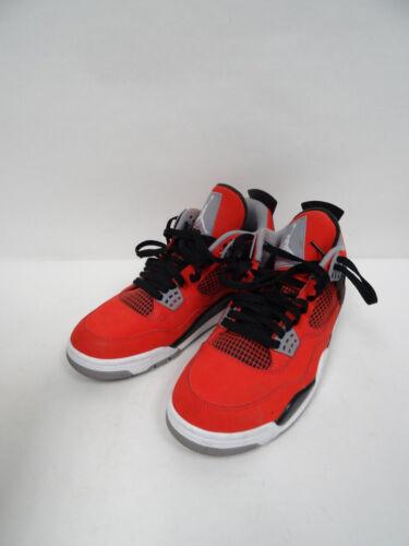 Nike Air Jordan Retro IV 4Toro Bravo Red Black 308497 603 Sz9 P1/N1413*