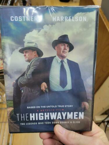"Costner-Harrelson ""THE HIGHWAYMEN"" DVD BRAND NEW FREE SHIPPING"