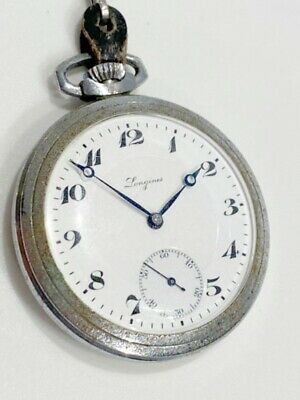 ◆LONGINES◆Pocket watch /15 JEWELS /with compass /Rare item /Old goods