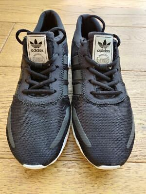 ADIDAS LOS ANGELES BLACK TRAINERS SIZE 6