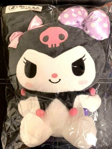 KUROMI Plush Backpack  Plushie bag SANRIO My melody Gift Kawaii New Japan