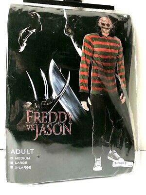 Halloween Costume Adult  FREDDY KRUEGER size Medium from Freddy vs Jason ()