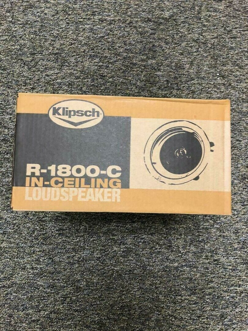 Klipsch Reference R-1800-C 40 W RMS - 160 W PMPO Speaker - 2