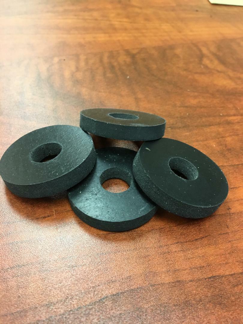 neoprene rubber washer spacer 1 1 4