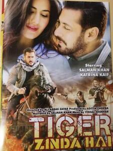 Tiger Zinda Hai (2017) Salman Khan, Katrina Kaif, hindi bollywood movie dvd