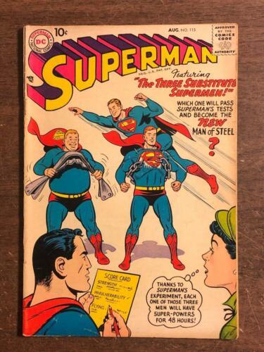 Superman #115 DC Comics 1957