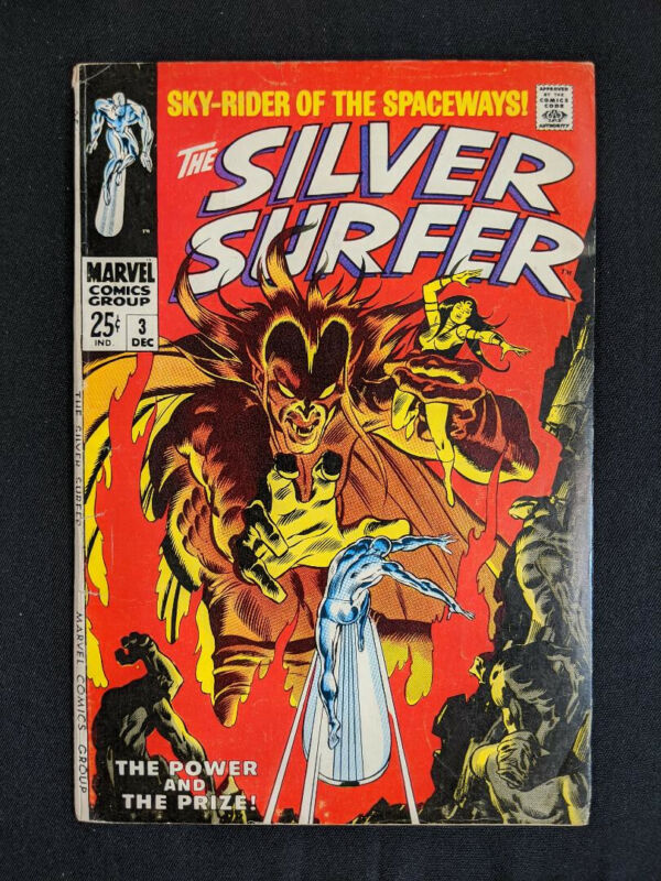 Silver Surfer #3, First Appearance of Mephisto (Marvel December 1968) (1)
