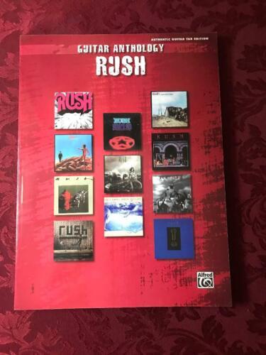 Rush Anthology Guitar Tab Book