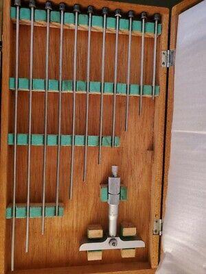 Mitutoyo Depth Micrometer 0-12