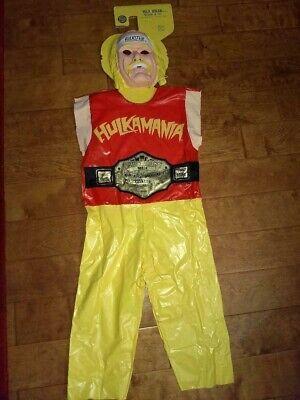 Ben Cooper 1985 Halloween Costume Hulk Hogan Medium M Med 47-52