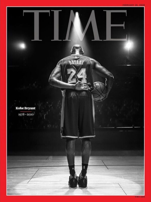 TIME MAGAZINE-Feb 10, 2020-KOBE BRYANT (1978-2020)-Final Bow On Court-Brand New