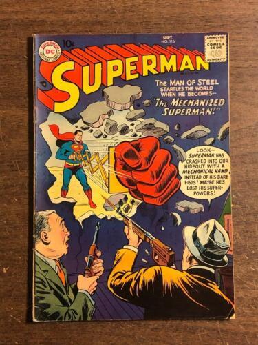 Superman #116 DC Comics 1957