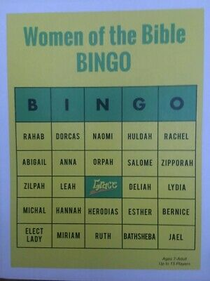 Bible Bingo Game (Women of the Bible)](Bible Bingo Game)