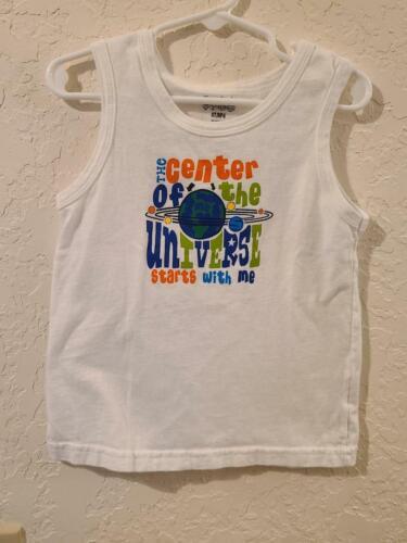 Toddler Boys sleeveless shirt 4T