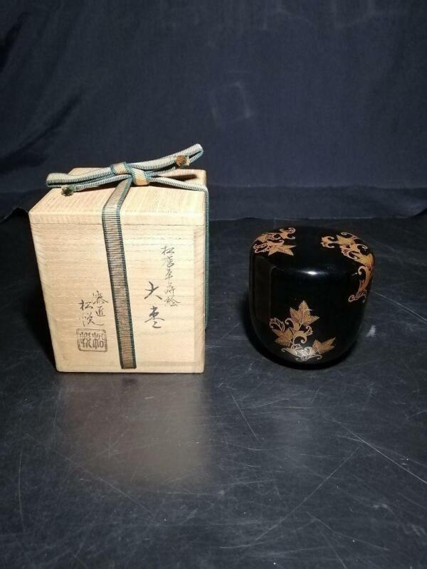 Tea Caddy Ceremony Natsume Sado Japanese Traditional Craft a210