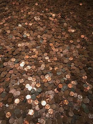 Lincoln Wheat Cent Bags Old Us Coins Pennies Collection Unsearched Lot Sale