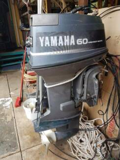 60hp yamaha 2 stroke long shaft outboard