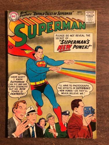 Superman #125 DC Comics 1958