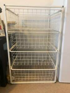 Wire Basket Drawers Wolli Creek Rockdale Area Preview