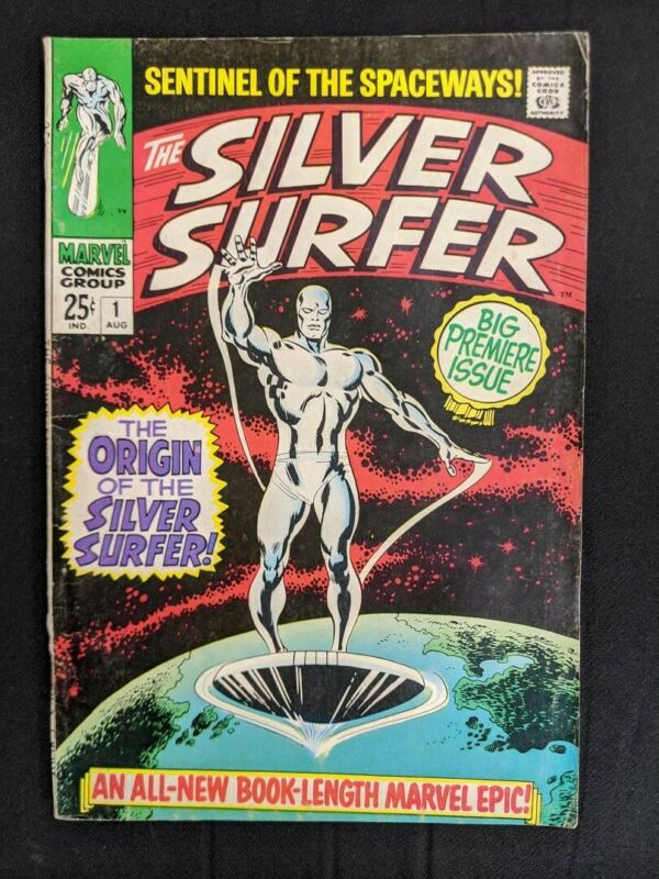 Silver Surfer #1, Origin of The Silver Surfer (August 1968) 7.5