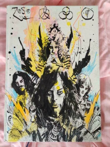JIM MAHFOOD Visual Funk Collection ORIGINAL ART IDW Limited Edition Led Zeppelin