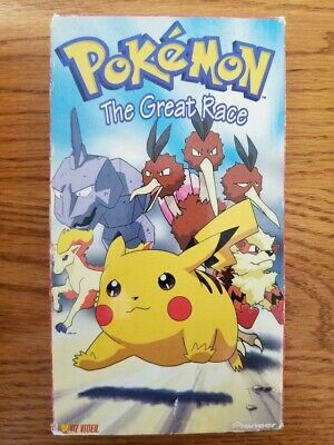 Pokemon Vol. 11: The Great Race (VHS, Slip Sleeve) Collector In original sleeve