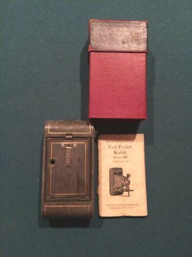 Vintage Vest Pocket Kodak series 3 camera