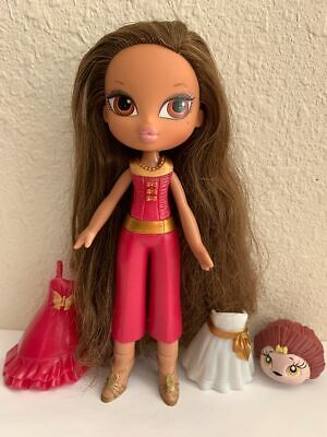 Girlz Girl Bratz Kidz Kid Yasmin Doll 3 Snap On Clothes Outfits Shoes Rare Pet