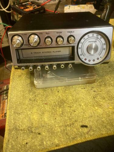 Pioneer 8-Track SERVICED TESTED