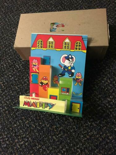 1983 BALLY/MIDWAY FACTORY ORIGINAL PROMO ITEM TO PROMOTE THE MAPPY VIDEO GAME