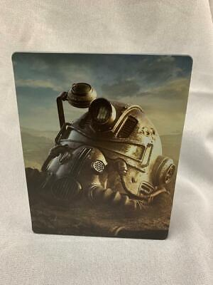Fallout '76 Steelbook Case Best Buy Bonus PS4 Xbox One NO GAME! Case
