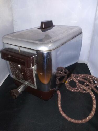 Vintage Dormeyer Fri-Well Electric Deep Fryer w/basket Model 6000