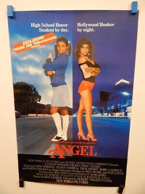 """ANGEL"" Susan Tyrrell Cliff Gorman High School Prostitution Crime Action Poster"