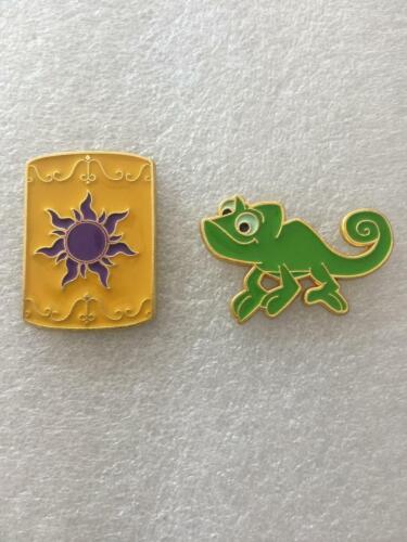 Disney Pins TANGLED ICON PINS- PASCAL-CHINESE LANTERN- 2 PINS AS SHOWN-Fast Shi