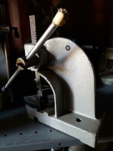 (2) Arbor Presses, 1-Ton & 2-Tons (Woodworking Machinery)