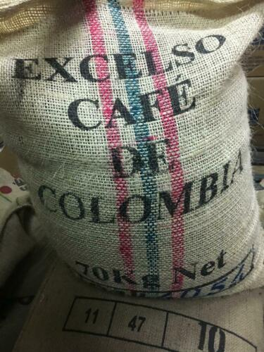 5 LB COLOMBIA COLOMBIAN EXCELSO UNROASTED GREEN COFFEE BEANS - ARABICA