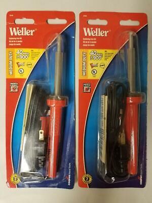 Qty 2 - Weller Sp40l Soldering Iron Kit 40w 120v