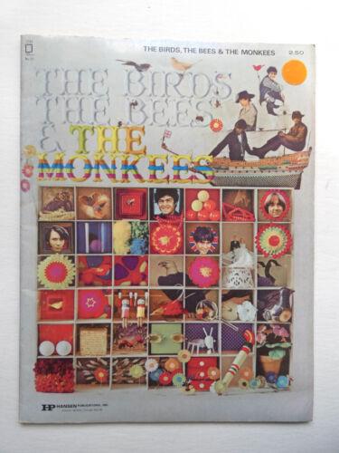 Vintage Birds, Bees & Monkees Sheet Music Book 1968