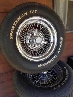 Wire wheels, Pontiac, Buick, Cadillac, Oldsmobile, Chevrolet