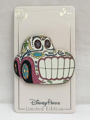 Disney California Adventure Halloween Sugar Skull Car Pin Annual Passholder LE (Halloween California Adventure)