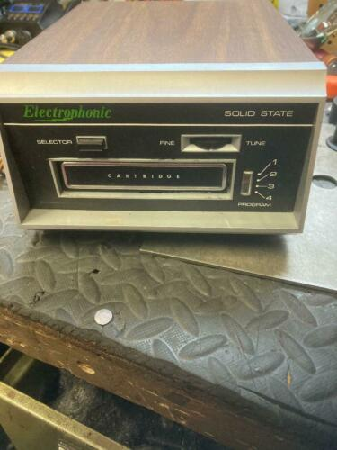 8 TRACK PLAYER ELECTROPHONIC TESTED SERVICED